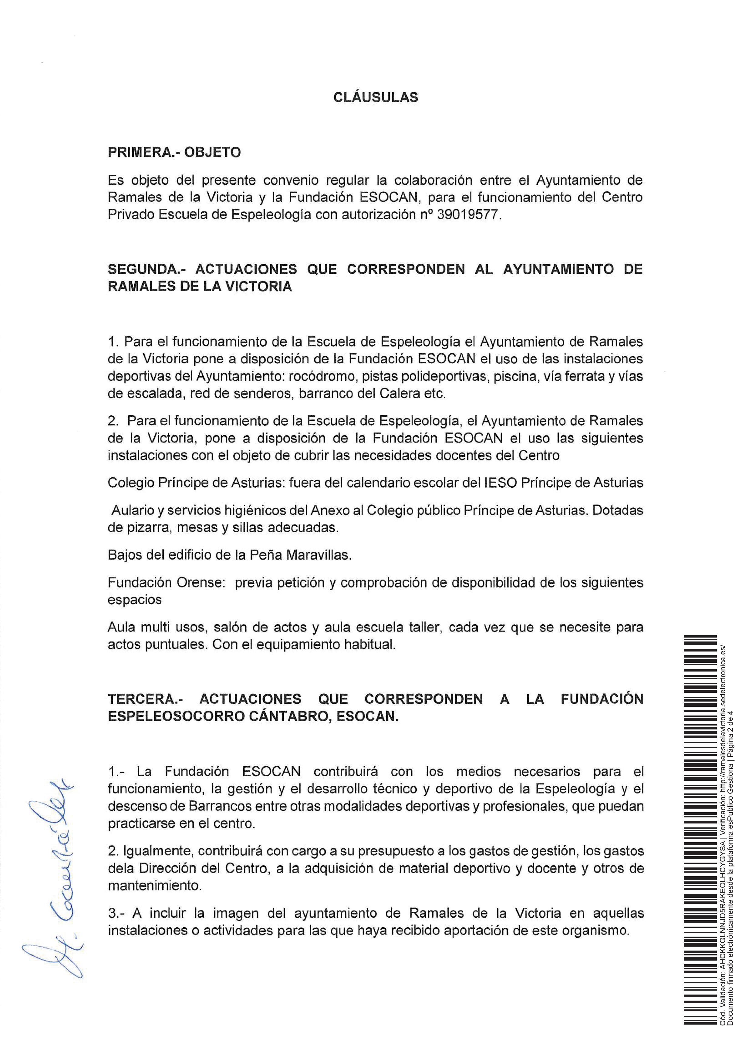 Firmado convenio de colaboraci n con el ayuntamiento de for Fuera de convenio 2018