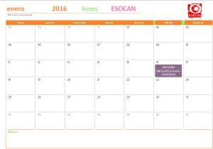actividades esocan enero 2016
